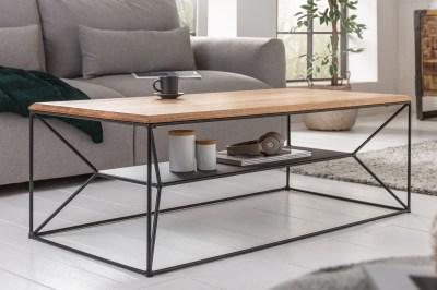 Design dohányzóasztal Haines 110 cm tölgy