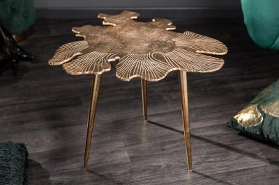 Design dohányzóasztal Lance 57 cm arany
