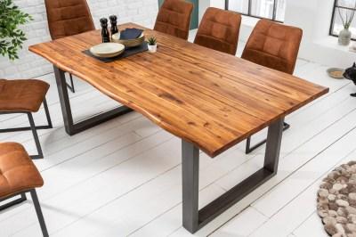 Design étkezőasztal Evolution 140 cm akác