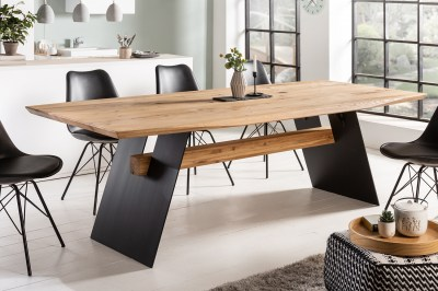 Design étkezőasztal Galeno 240 cm vad tölgy