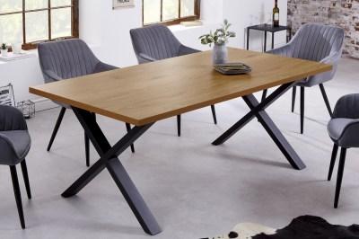Design étkezőasztal Giuliana X 180 cm tölgy