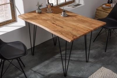 Design étkezőasztal Massive 120 cm asztallap 26 mm akác