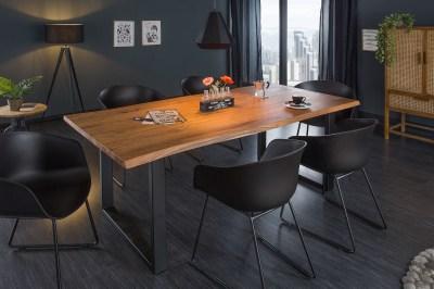 Design étkezőasztal Massive 160 cm asztallap 35 mm akác