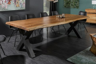Design étkezőasztal Massive X Honey 300 cm akác