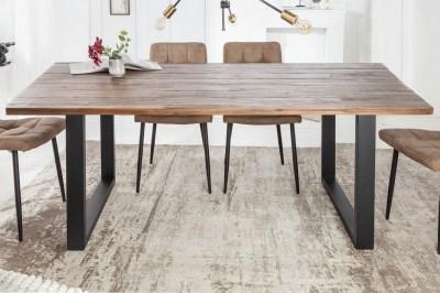 Design étkezőasztal Saxon II 180 cm akác