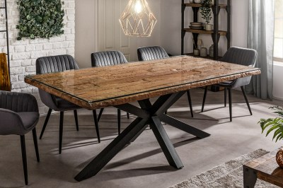 Design étkezőasztal Shark 200 cm természetes
