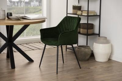 Design étkezőszék Danessa olajzöld
