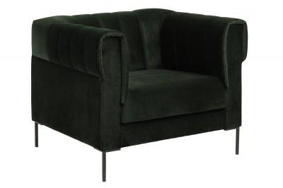 Design fotel Darice sötétzöld
