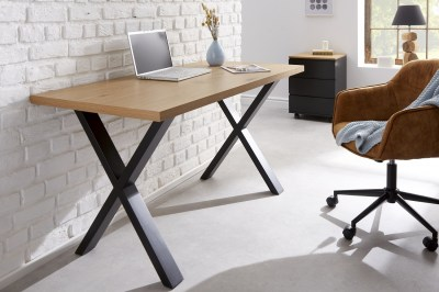 Design íróasztal Giuliana X 140 cm tölgy