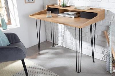 Design íróasztal Kiana II 110 cm tölgy minta