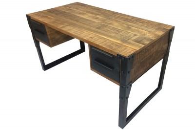 Design íróasztal Unity 135 cm mangó