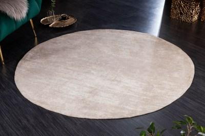 Design kerek szőnyeg Rowan 150 cm bézs