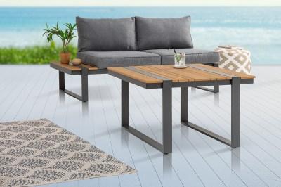 Design kerti oldalsóasztal Gazelle 78 cm Polywood