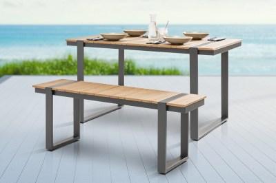 Design kerti ülőpad Gazelle 123 cm Polywood