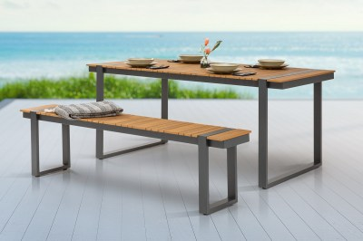 Design kerti ülőpad Gazelle 180 cm Polywood