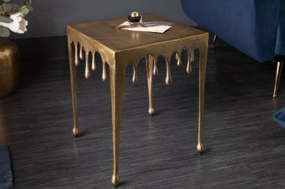 Design oldalsó asztal Gwendolyn S 44 cm arany
