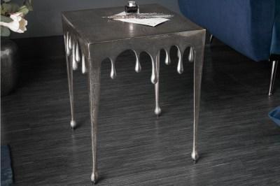 Design oldalsó asztal Gwendolyn S 44 cm ezüst