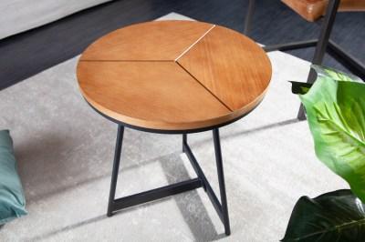 Design oldalsóasztal Faxon 45 cm tölgy utánzata