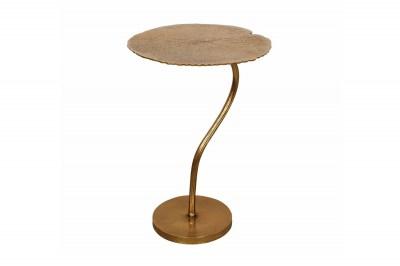Design oldalsóasztal Lance 42 cm arany