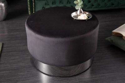 design-puff-rococo-55-cm-fekete-ezust-1