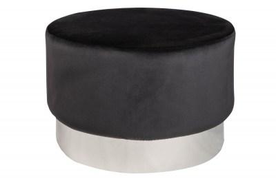 design-puff-rococo-55-cm-fekete-ezust-5