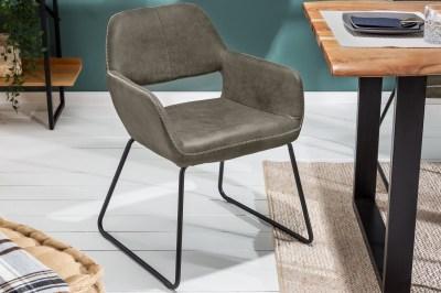 Design szék Derrick 77 cm antik szürke