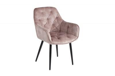 Design szék Garold pezsgő bársony