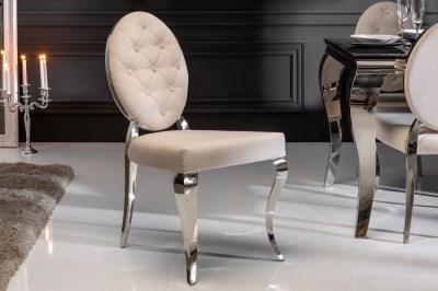 Design szék Rococo II bézs