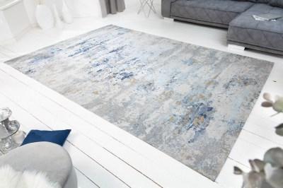 Design szőnyeg Jakob 350 x 240 cm szürke-kék