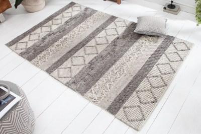 Design szőnyeg Rebecca 240 x 160 cm szürke