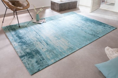 Design szőnyeg Rowan 240 x 160 cm türkiz-bézs