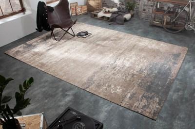 Design szőnyeg Rowan 350 x 240 cm szürke-bézs