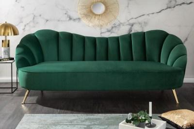 Design ülőgarnitúra Adalia 220 cm zöld