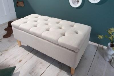 Design ülőpad Queen 100 cm bézs