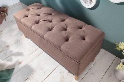 Design ülőpad Queen 100 cm kávé