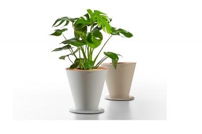 Design virágcserép HIGOLD - ICOO Flower Basket White