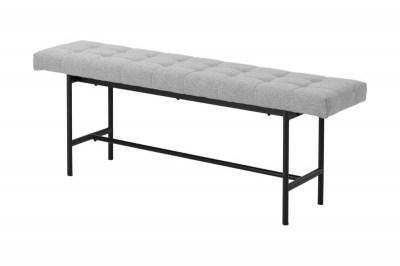 Ízléses ülőpad Nerida - világos szürke 160cm
