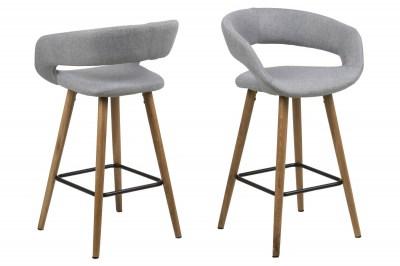 Ízléses pult szék Natania - világos szürke