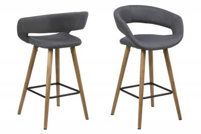 Ízléses pult szék Natania - sötétszürke
