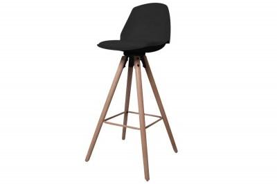 Ízléses pult szék Nerea - fekete