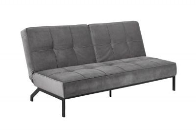 Ízléses ágyazható kanapé Amadeo 198 cm - sötétszürke