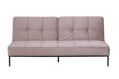 Ízléses ágyazható kanapé Amadeo 198 cm - rózsaszín