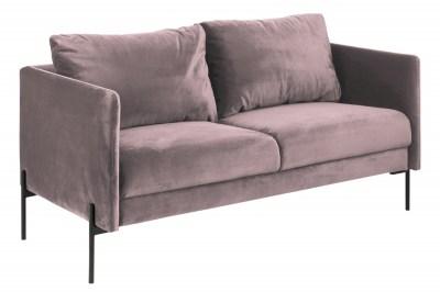 Stílusos kanapé Noomi - világos rózsaszín