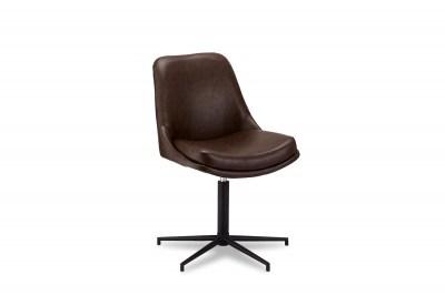 Ízléses szék Aeneas sötétbarna