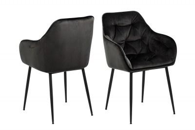 Stílusos szék Alarik szürke / barna