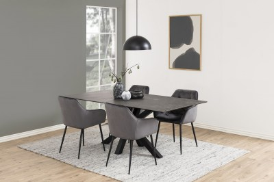 Stílusos szék Alarik - sötétszürke