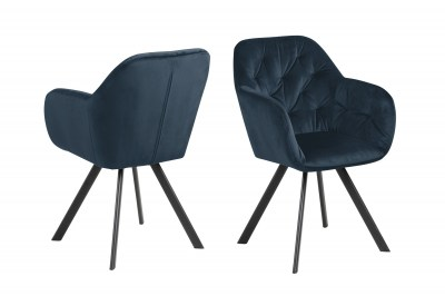 Ízléses szék Aletris - sötétkék
