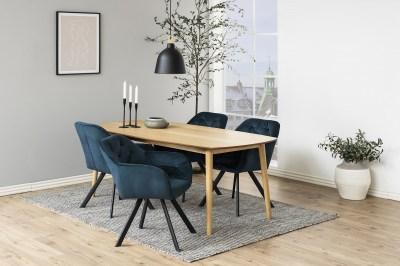 Stílusos szék Aletris - sötétkék