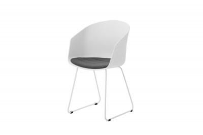 Stílusos szék Almanzo fehér / szürke