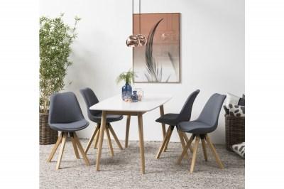 Stílusos szék Nascha - sötétszürke